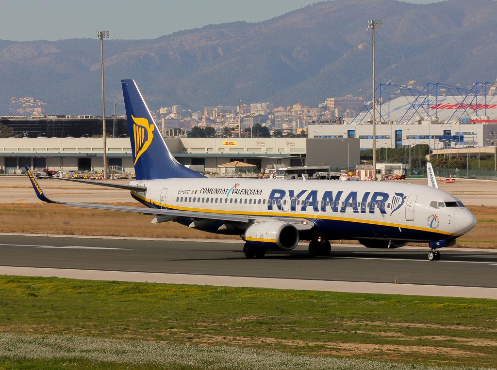 Ryanair posa la cançó al final del vol tot i arribar amb retard
