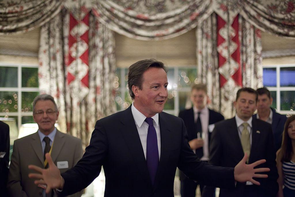 David Cameron celebrà ahir la victòria electoral a Magaluf