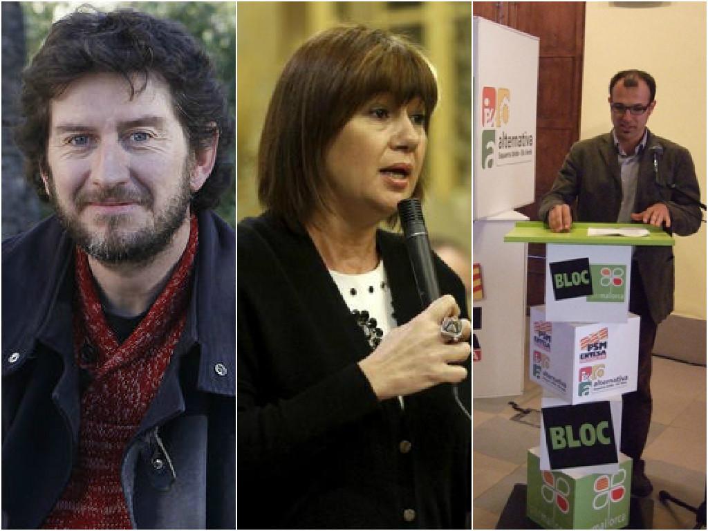 El pacte d'esquerres a Mallorca s'allarga i es transforma en una rave