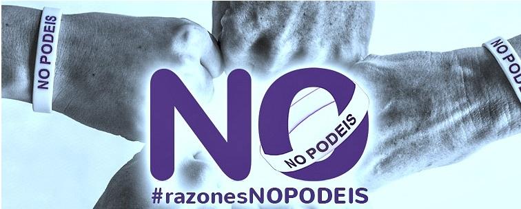 """Les famoses polseres """"no podeis"""" varen ser comercialitzades per Podemos"""