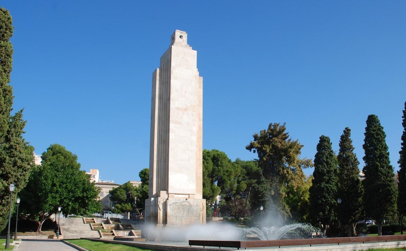 El govern ha esbucat el monument de sa Feixina de Palma aquesta nit passada