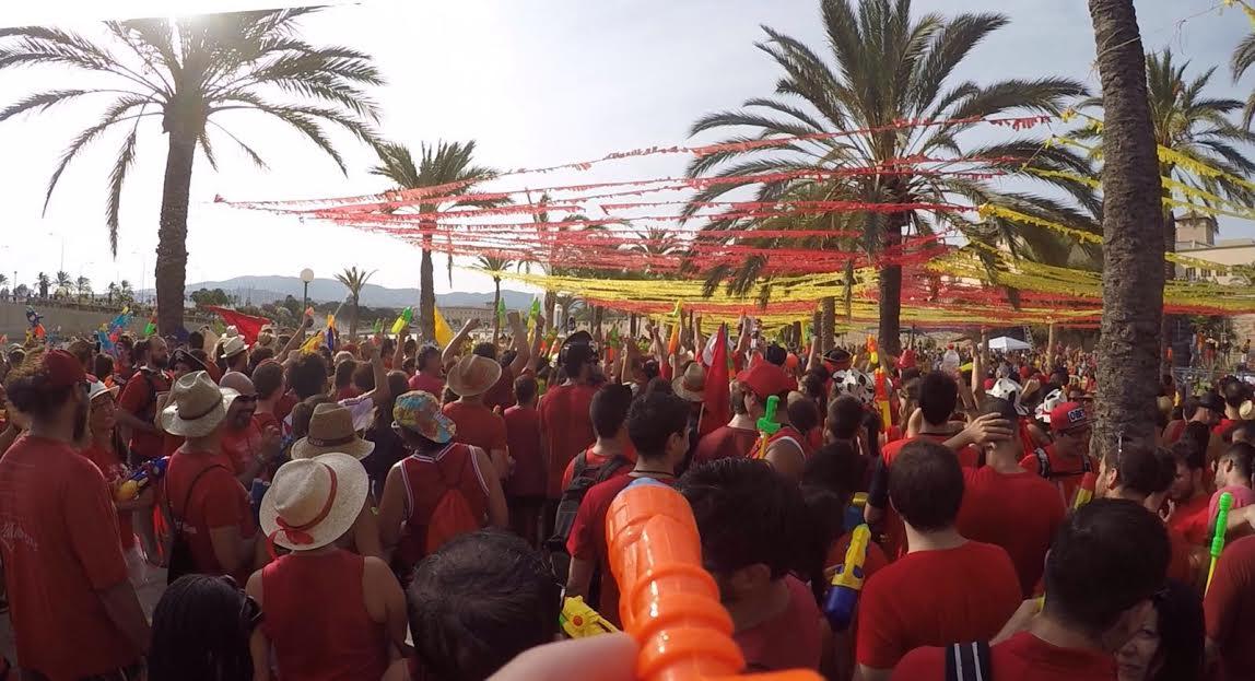 Canamunt esclafa Canavall en una batalla èpica a Ciutat de Mallorca