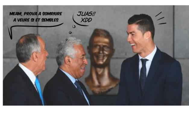 L'ONCE ofereix feina a l'escultor del bust de Cristiano Ronaldo