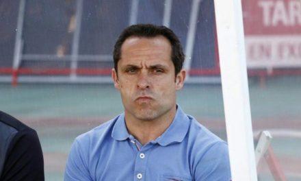 """Sergi Barjuan: """"Me'n vaig content perquè ho hem aconseguit. El derbi amb l'Atlètic Balears ja és un fet"""""""