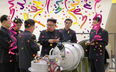 Corea del Nord pretén llançar 75 tonelades de confeti als EUA a l'estil Arran