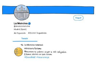 Twitter de Moncloa
