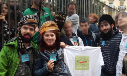 Joves adoctrinats mallorquins s'uneixen a la jihad catalana per donar suport al secessionisme