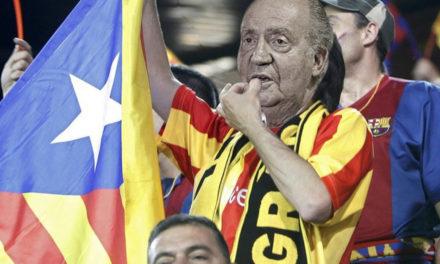 Sorprenen a Joan Carles I entre el públic del Wanda xiulant l'himne espanyol