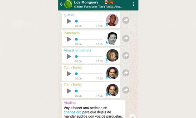 Un grup d'amics maten el membre que sempre enviava àudios per whatsapp
