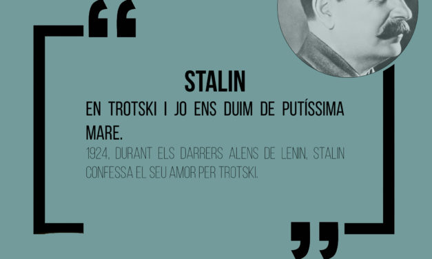 Cita històrica: Stalin
