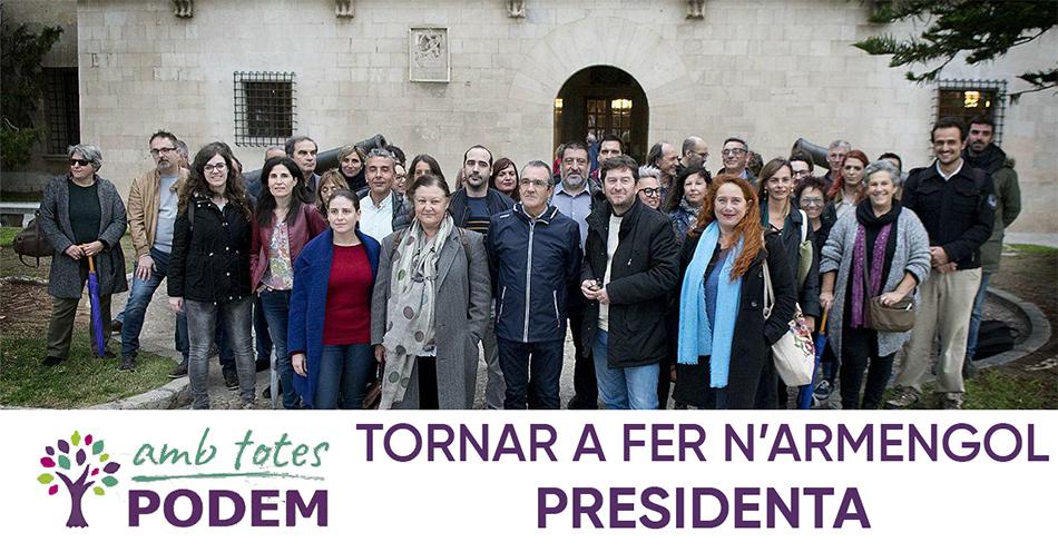 PODEM prepara les seves primàries amb la intenció que torni a guanyar el PSOE